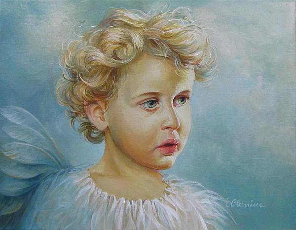 Angel Print by Elena Oleniuc