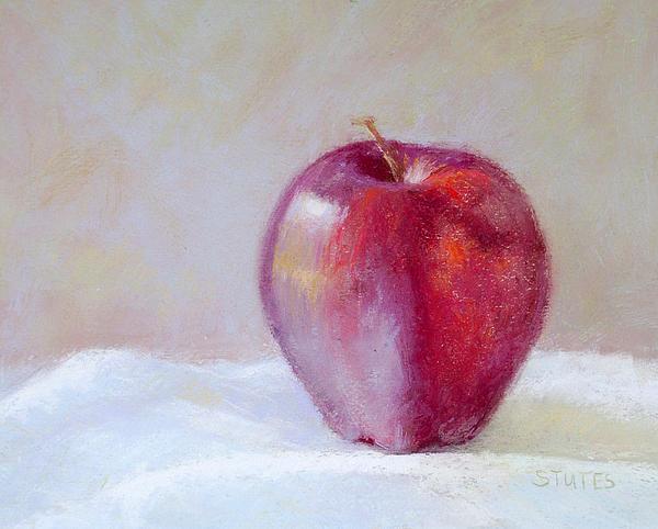 Apple Print by Nancy Stutes