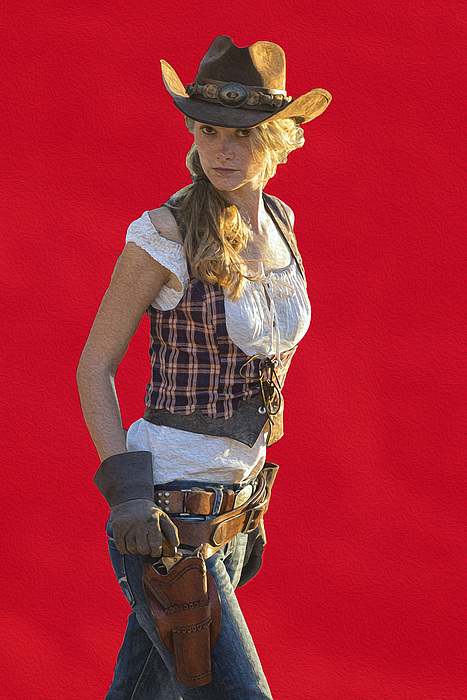 Arizona cowgirl by christian heeb for Christian heeb