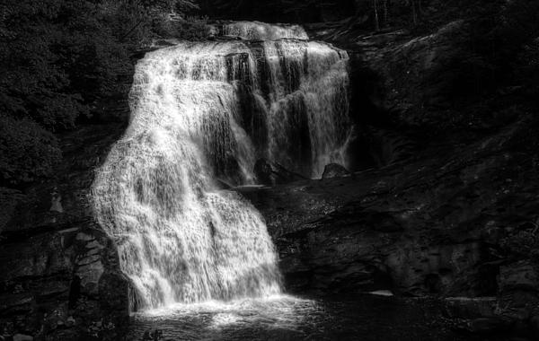 Bald River Falls Print by Greg and Chrystal Mimbs