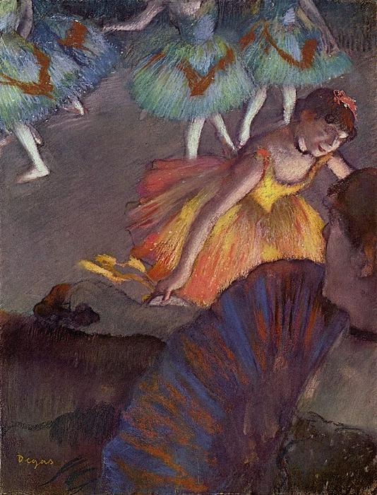 Ballet Print by Edgar Degas