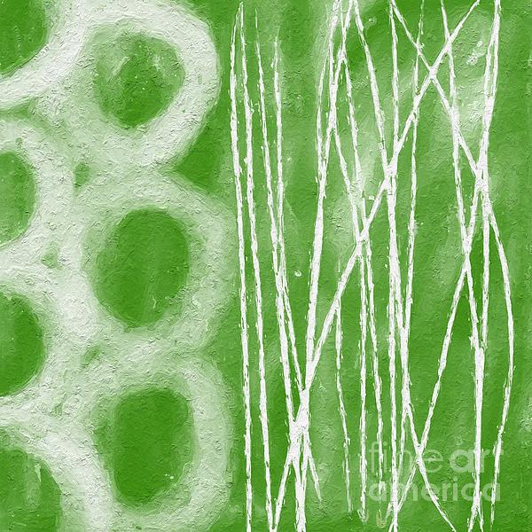 Bamboo Print by Linda Woods