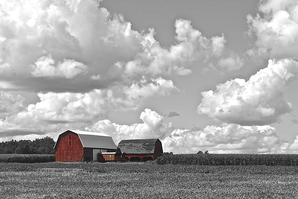 Big Sky Print by Frozen in Time Fine Art Photography