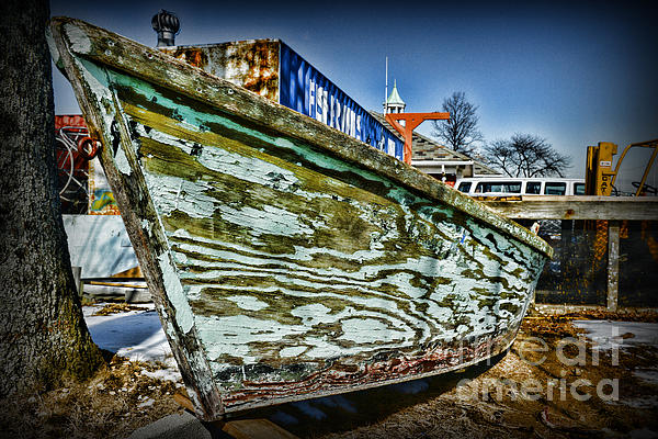 Boat Forever Dry Docked Print by Paul Ward