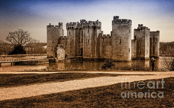 Bodiam Castle Print by Donald Davis