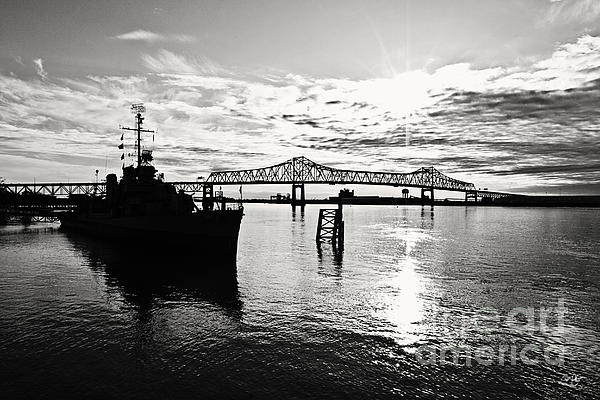 Bright Time On The River Print by Scott Pellegrin