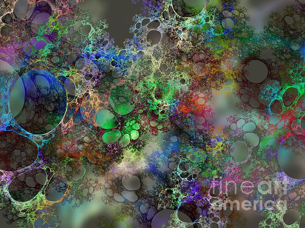 Bubbles Print by Klara Acel