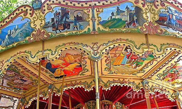 France  Art - Carcassonne Carousel
