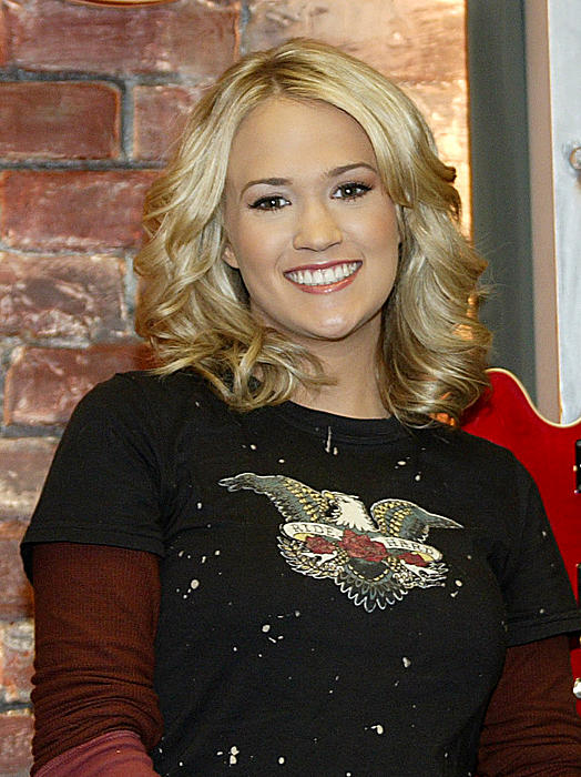 Carrie Underwood Print by Don Olea