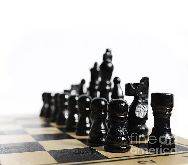Chess Print by Jelena Jovanovic