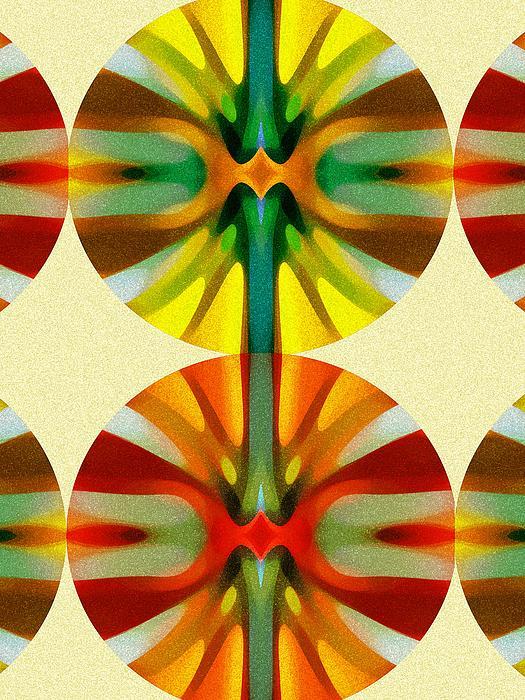 Circle Pattern 2 Print by Amy Vangsgard