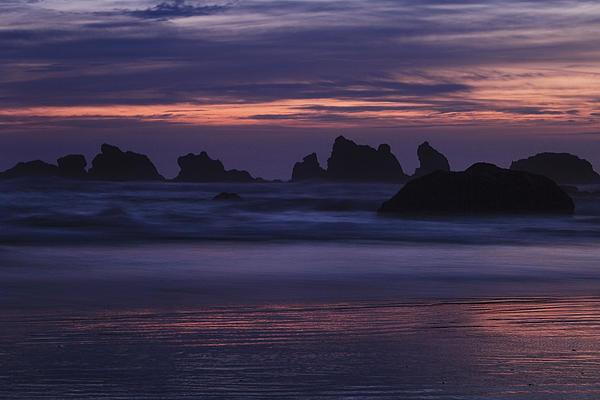 Coastal Reflections Print by Andrew Soundarajan
