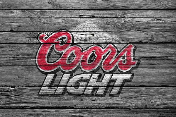 Coors Light Print by Joe Hamilton