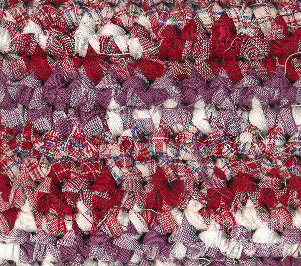 Crochet Rag Rug Print by Kerstin Ivarsson