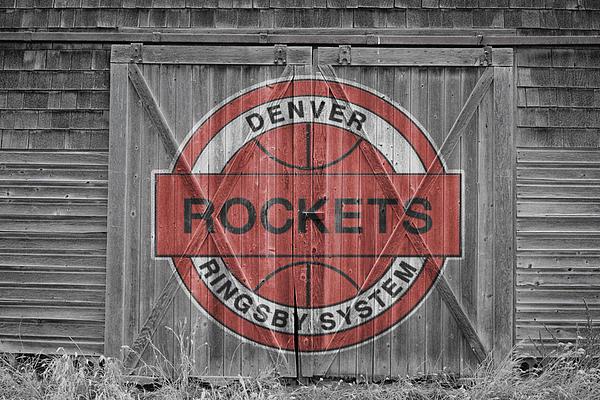 Denver Rockets Print by Joe Hamilton