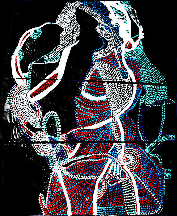 Dinka Print by Gloria Ssali
