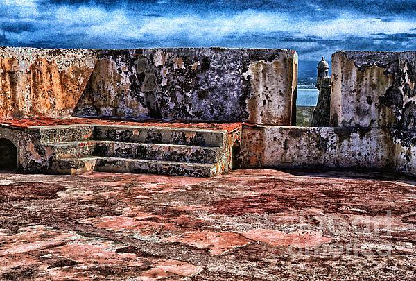 El Morro Fortress Old San Juan Print by Thomas R Fletcher