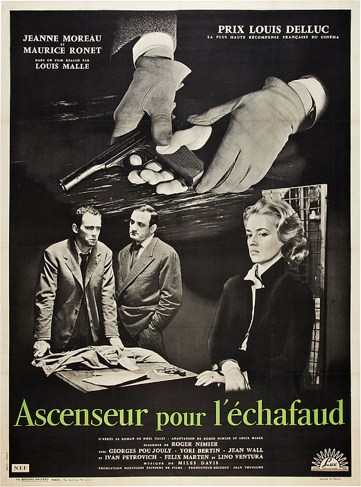 Elevator To The Gallows, Aka Ascenseur Print by Everett