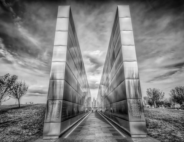 Empty Sky Memorial Print by Linda Karlin