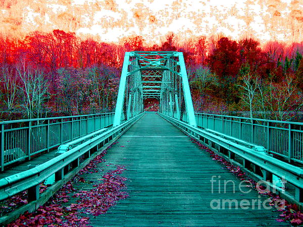 Fayette Station Bridge Print by Amy Sorrell