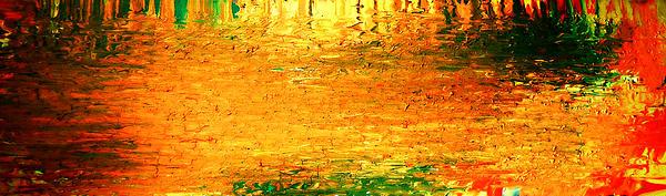 Feel Me Flow Print by Cyryn Fyrcyd