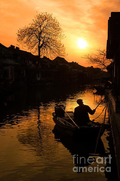 Fisherman Print by Yew Kwang