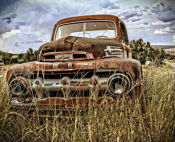 Ford Print by Gia Marie Houck