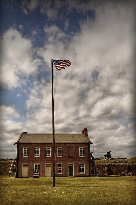 Fort Clinch Print by Mario Celzner