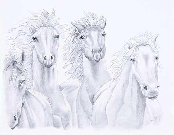 Four For Freedom Print by Joette Snyder