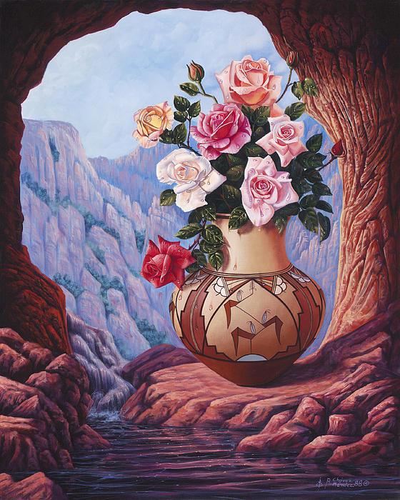 Fragrance And Dew Print by Ricardo Chavez-Mendez