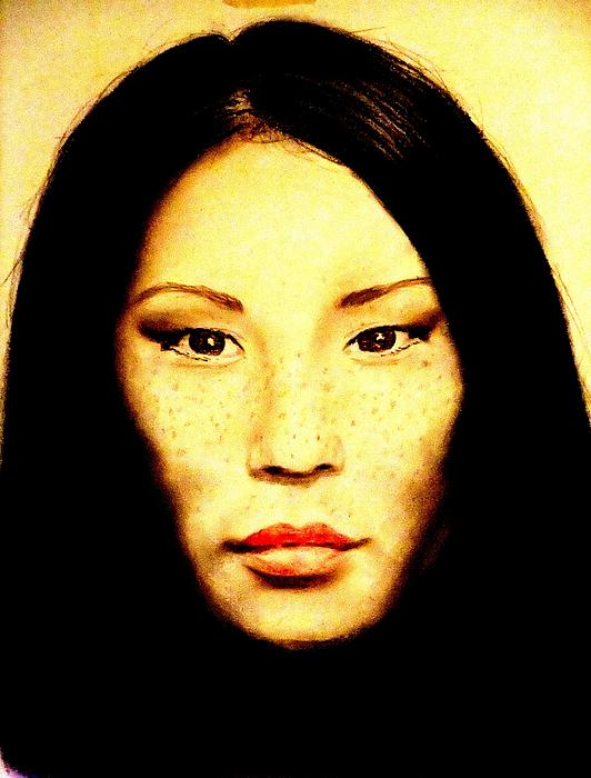 Jim Fitzpatrick - Freckle Faced Beauty Lucy Liu