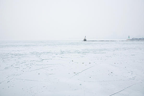 Frozen Print by Joanna Madloch