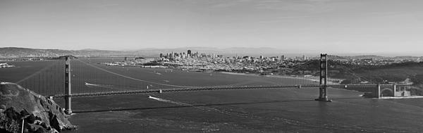 Golden Gate Bridge Panorama Print by Twenty Two North Photography