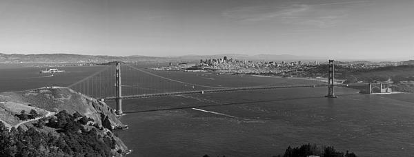 Golden Gate Bridge Print by Twenty Two North Photography
