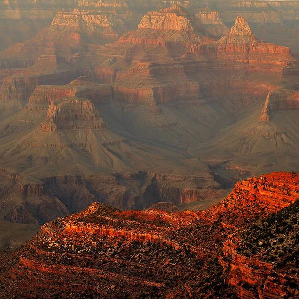 Stephen  Vecchiotti - Grand Canyon Evening