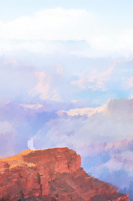 Grand Canyon Print by SM Shahrokni