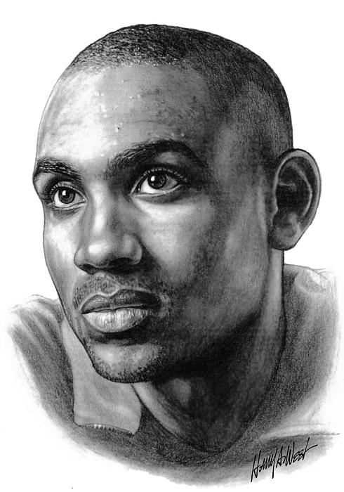Grant Hill Print by Harry West