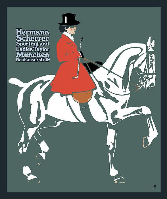 Hermann Scherrer Print by Gary Grayson