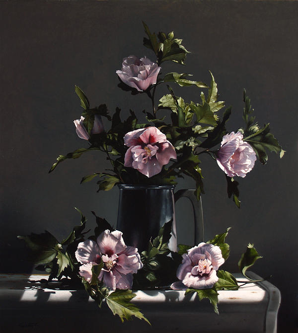 Hibiscus Print by Larry Preston