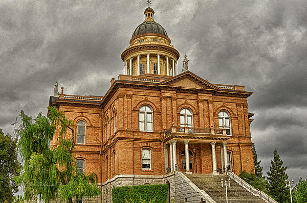 Historic Placer County Courthouse Print by Jim Thompson