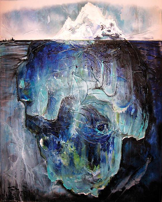 Iceberg Print by Tanya Kimberly Orme