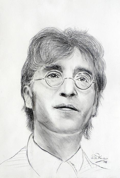John Lennon Beatles Print by Ruth Jamieson