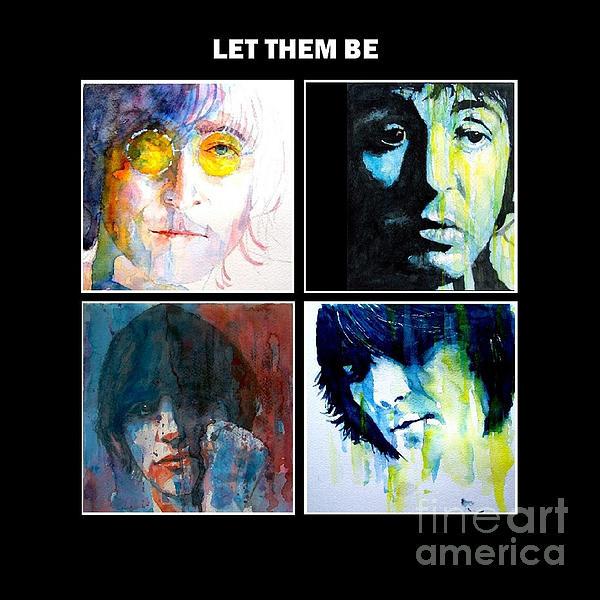 Let Them Be Print by Paul Lovering