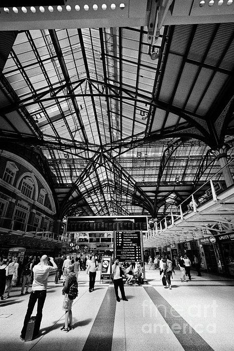 London Liverpool Street Main Line Railway Station England