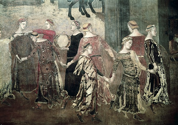 Lorenzetti, Ambrogio 1285-1348 Print by Everett