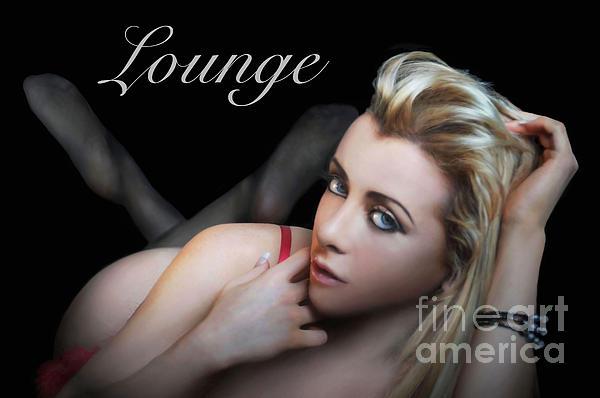 Lounge Print by Dan Holm