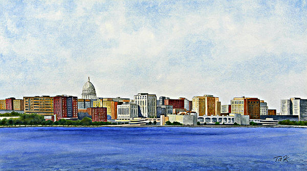 Madison Print by Thomas Kuchenbecker