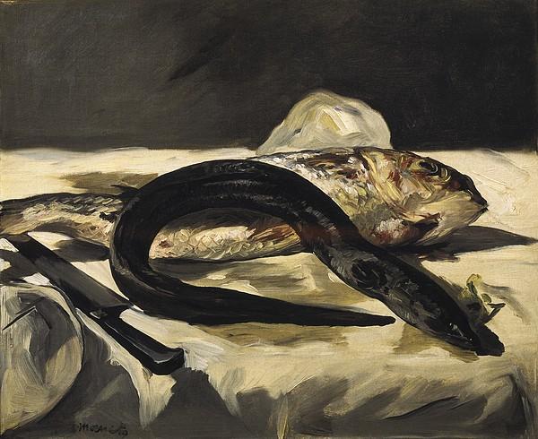 Manet, �douard 1832-1883. Still Life Print by Everett