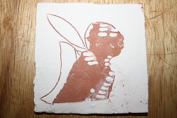 Micah - Tile Print by Gloria Ssali