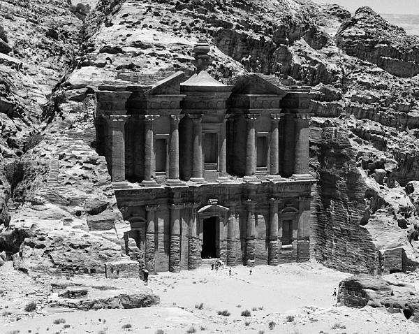 Monastery Of Petra Print by Ernesto Cinquepalmi